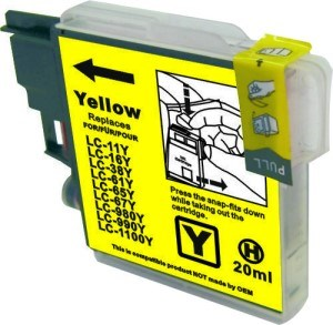 LC67Y / LC38Y Compatible Yellow Cartridge for Brother
