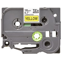 TZe641 Compatible 18mm Black on Yellow P-Touch Tape for Brother