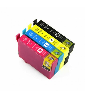 212XL Compatible Ink Set of 4 (Bk/C/M/Y) for Epson