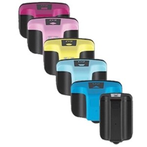02 Compatible Ink Cartridge Set of 6 (Bk/C/M/Y/Pc/Pm) for HP