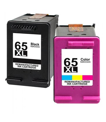 65XL Compatible Black + Colour Combo Pack for HP